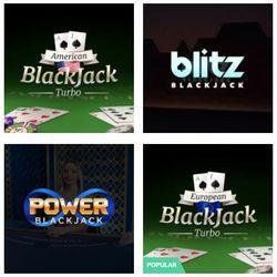 4 types of blackjack at online casinos.