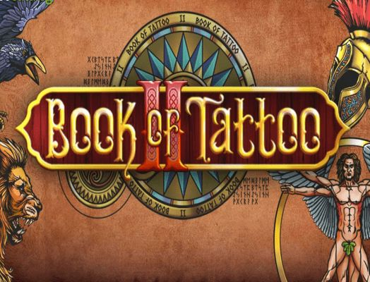 Cover image for Book of Tatto 2 slot game.