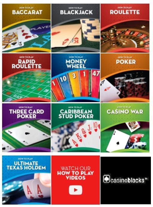 available casino games at Chch asino