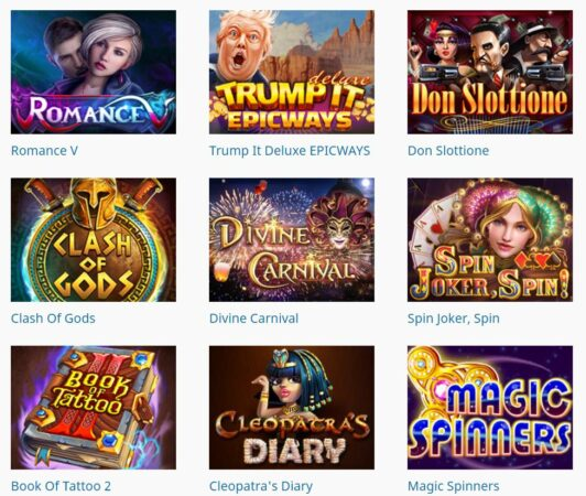 Here we can see the latest launched slot games by Fugaso.