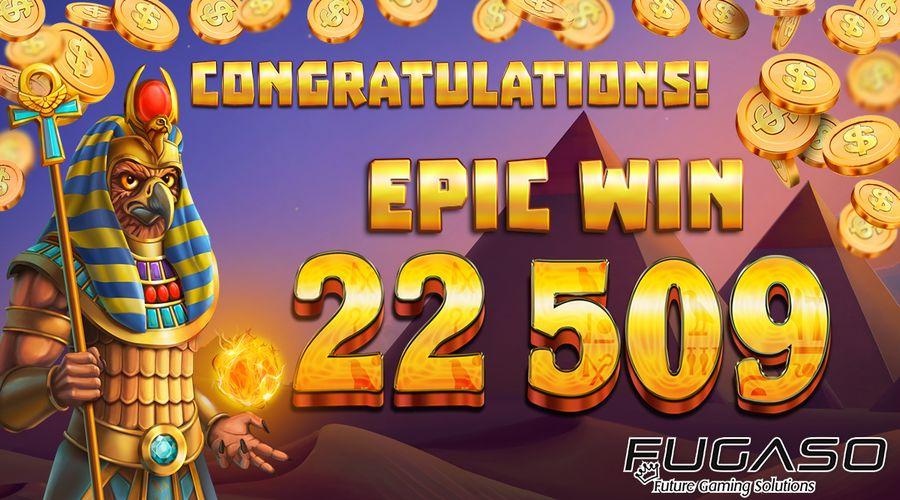 Kiwi won 22 509 NZD with 2 NZD bet on Fugaso's new pokie!
