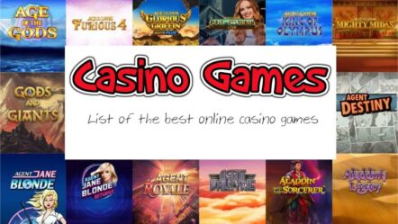 Casino games list – 15+ Best casino games to play online