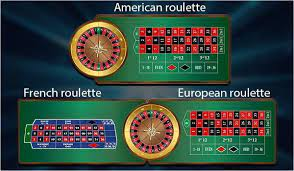 types of roulette.
