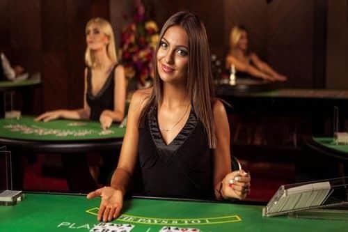 Ella Shar is the beatiful dealer at NetEnt studio casinos.