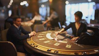 Image of blackjack table