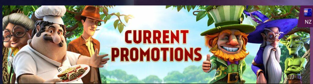 Screenshot of the promotion image at Playamo