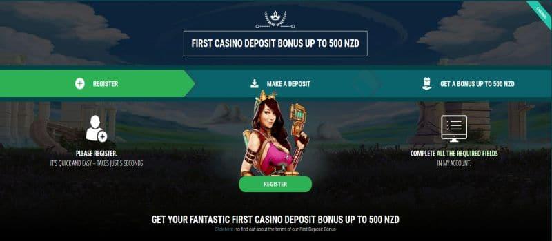 22bet casino welcome bonus for new zealand poster