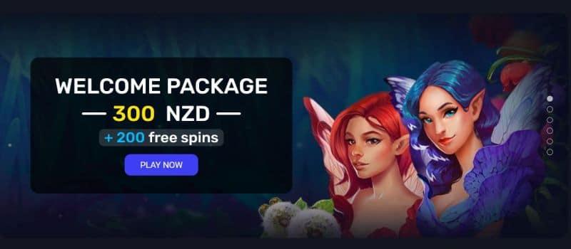 Current Woo casino welcome bonus for NZ