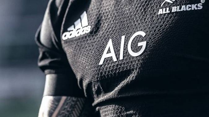 current All Blacks Jersey