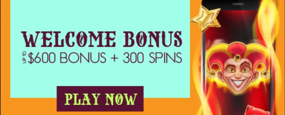 The welcome bonus offer for NZ.