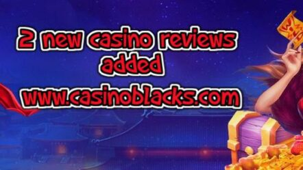 Two new online casino reviews added! Update!