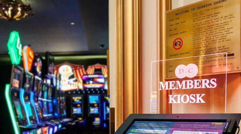 Grand Casino Dunedin kiosk