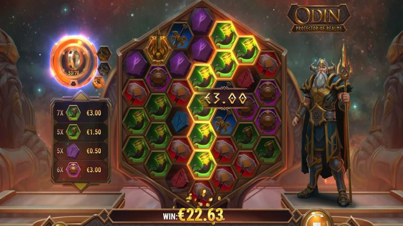 Odin: Protector of Realms slot screenshot