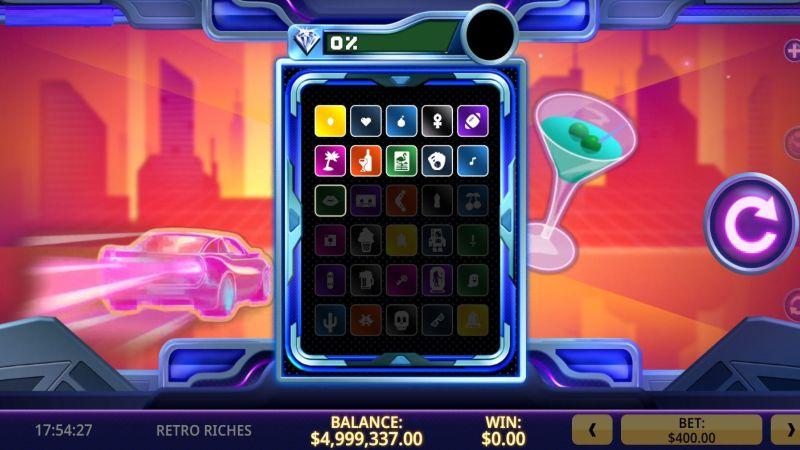 Retro riches slot screenshot