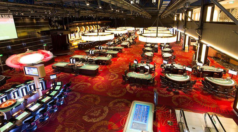 Auckland casino gaming area