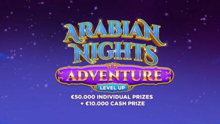 Bitstarz awards with NZ$ 17,000 in Arabian Nights Adventure – Level Up promo