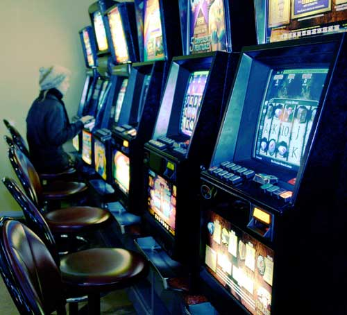 first gaming machines in New Zealand