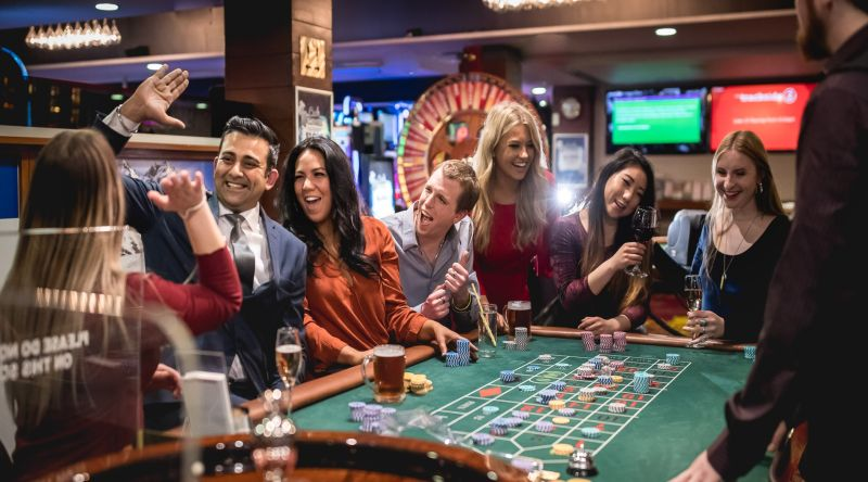 roulette table at SkyCity Queenstown casino