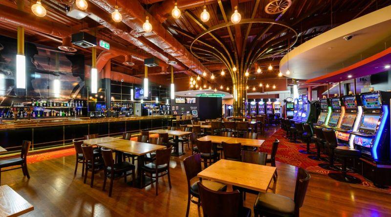 Hamilton casino gaming area